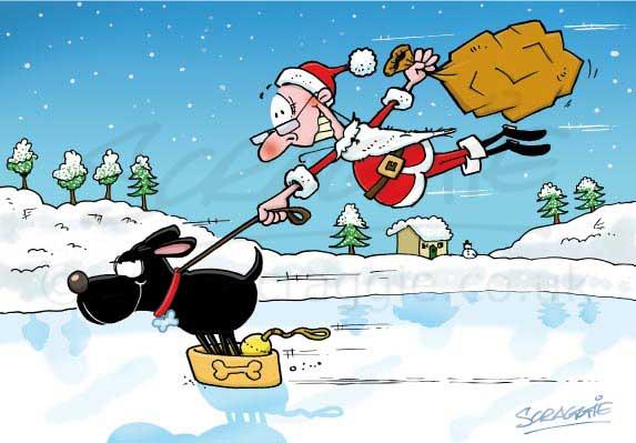 cartoon christmas cards contact - Cartoon Christmas Cards