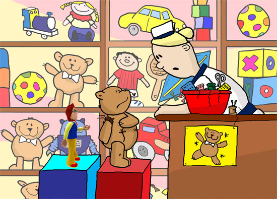 Cartoon Illustration Gallery: Big Cook Little Cook children's ...