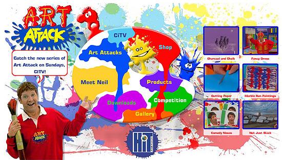 Art Attack Website